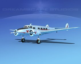 3D model Lockheed L10 Electra Private 2