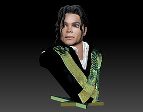 Michael Jackson Bust 3D Printable celebrity