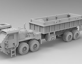 3D print model WoWBuildings Gun Truck including missle 2
