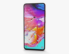 Samsung Galaxy A70 Coral 3D