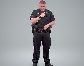 3D model Policeman Talking to Ration CMan0208-HD2-O01P01-S