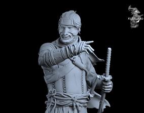 3D printable model Ghost of Tsushima