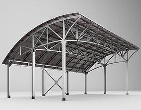 3D Metall carport 1