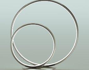 3D model Omega 32cm LED Table Lamp by Schuller