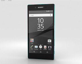 3D model Sony Xperia Z5 Green