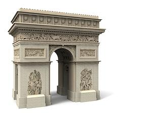 Arc d Triomphe Paris 3D model