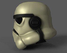realtime Stormtrooper Lowpoly model