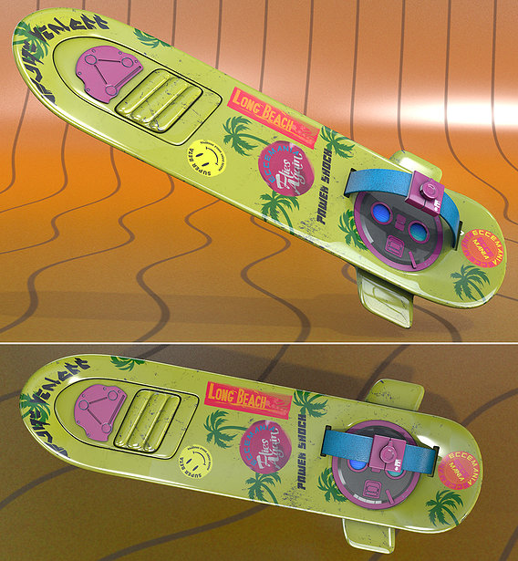 Hoverboard II Neon Power Shock