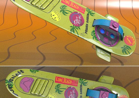 Hoverboard II Neon Power Shock