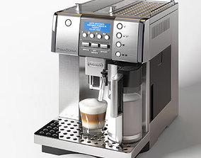 3D DeLonghi PrimaDonna ESAM 6620 Coffee Machine