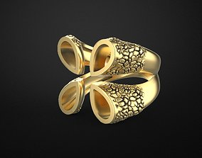 angela hubel style special ring model woman