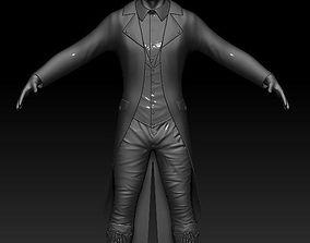 Steampunk man Zbrush 3D model