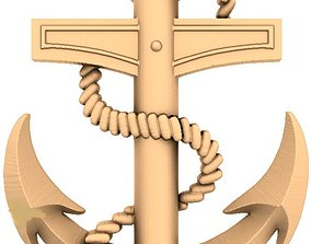 Anchor 3D models for artcam and aspire