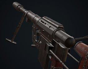 Sniper M200 3D asset