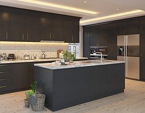 Modern Kitchen houseware 3D