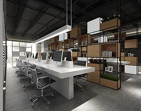 3D model Office meeting room reception hall 43