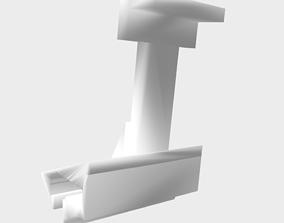 3D printable model IpadPro mount extension for dji