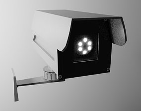game-ready Camera PBR Game Ready Low-poly 3D model