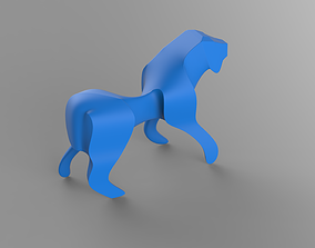 Sharp Lion beast 3D printable model