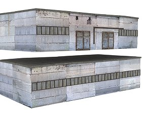 3D model Factory Building 02 01