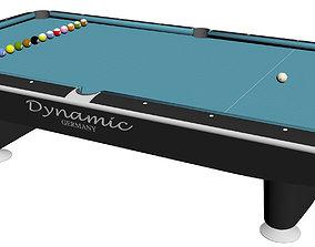 Pool table sport 3D