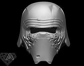 3D print model Kylo Ren custom helmet