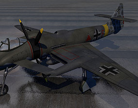 Blohm und Voss Bv-P 192 3D ww2