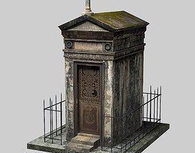 3D asset game-ready Old Mausoleum