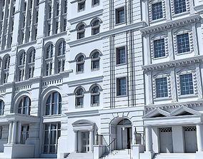 3D model Commercial Building Facade 20