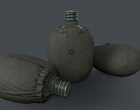 Flask 3D asset realtime