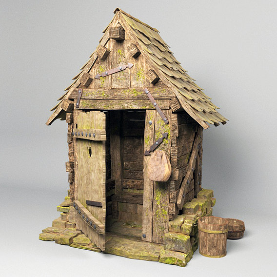 Medieval Outhouse