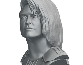 Cara Dune Statue - The Mandalorian 3D printable model