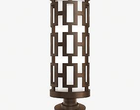 3D Fine Art Lamps River Oaks 38880 Post Light