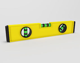 straight 3D model Spirit Level