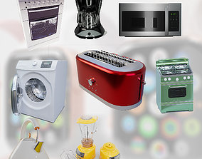 3D Kitchen appliance collections