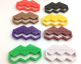 3D print model MonzaMakers Keychain