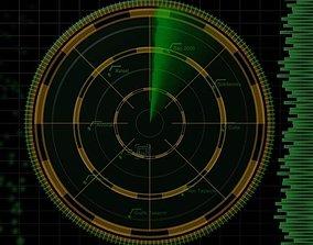 3D model Radar scan