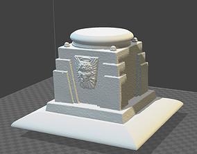 Gothic base pedestal 3D printable model