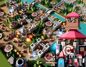 TARBO - Tower Defense Pack 3D asset