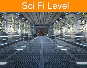 Sci Fi level 3D model