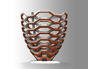 The Vessel - Hudson Yards Staircase - printable 3D