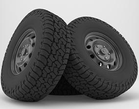 3D Falken Wildpeak AT3W All Terrain Radial Tire