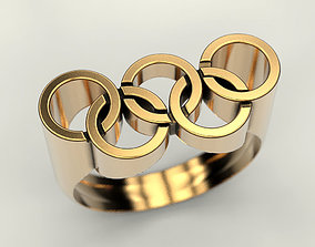 Olympic Ring 3D printable model