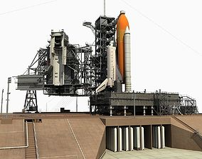 Kennedy Space Center Launch Complex 39-A 3D