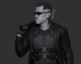 skull Blade - Likeness Wesley Snipes - 3d Print