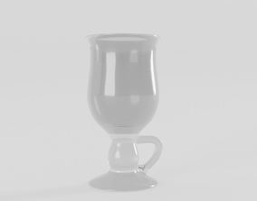 Irish Coffee Glass 3D