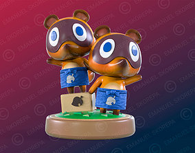 3D print model TIMMY AND TOMMY - ANIMAL CROSSING