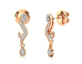 3D printable model Earrings-0782