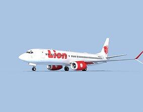 3D model Boeing 737-800 Max Lion Air