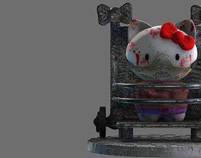 Hello Hannibal Kitty Diorama 3D print model